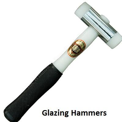 Glazing hammers, glazing mallets, thor hammers, thor glazing hammer