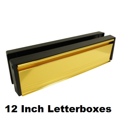 Replacement 12 inch UPVC Letterbox