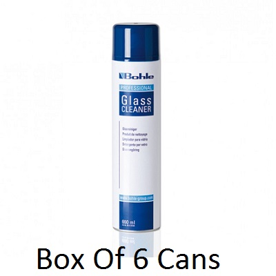 Bohle Glass Cleaner 6 Cans