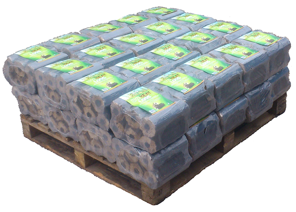 Eco Logs made from 100% rice husk - 40 packs