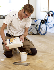 Gap filling & Finishing services provided by trained experts in Floor Sanding Guildford