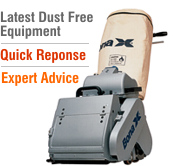 Latest dust free floor sanding machines by Bona are in use on all our projects.