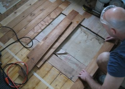 London wood floor repair services.