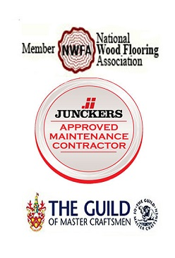 London Floor Sanding Proud members of NWFA, GMC and Approved Junckers Maintenance Contractors.