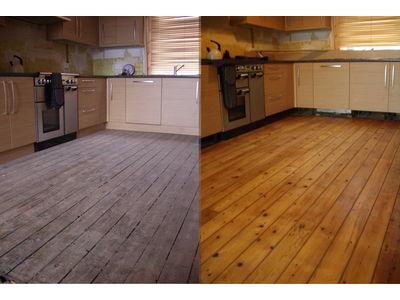 Professional Floor Sanding & Finishing in The Wood Floor Polishing Experts
