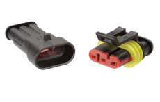 Super seal plug expanding overbraid heatshrink 2 care cable 4 core cable wiring loom cable marker