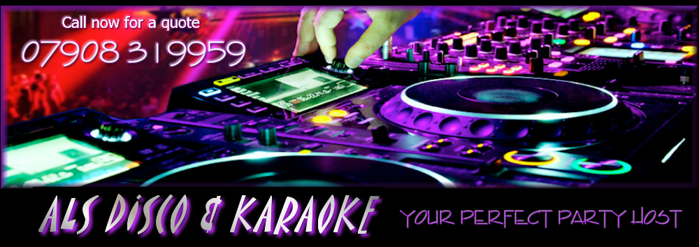 mobile DJ disco karaoke wedding glasgow scotland