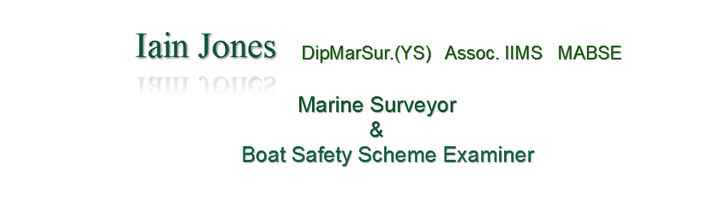 Marine Surveyor marine surveys Boat Safety
