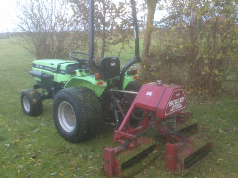 CompactTractormowing