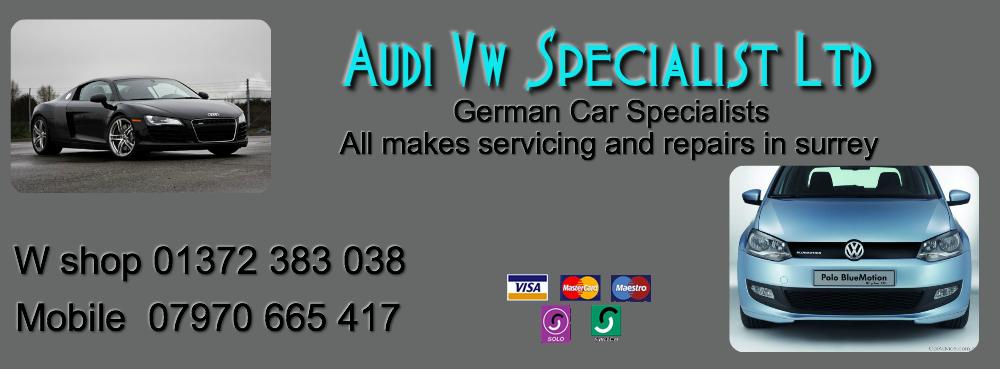 Audi Vw servicing