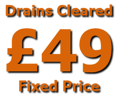 blocked drains Emergency plumber North London