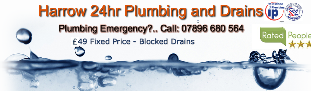 call Owen Emergency plumber 24hr Harrow