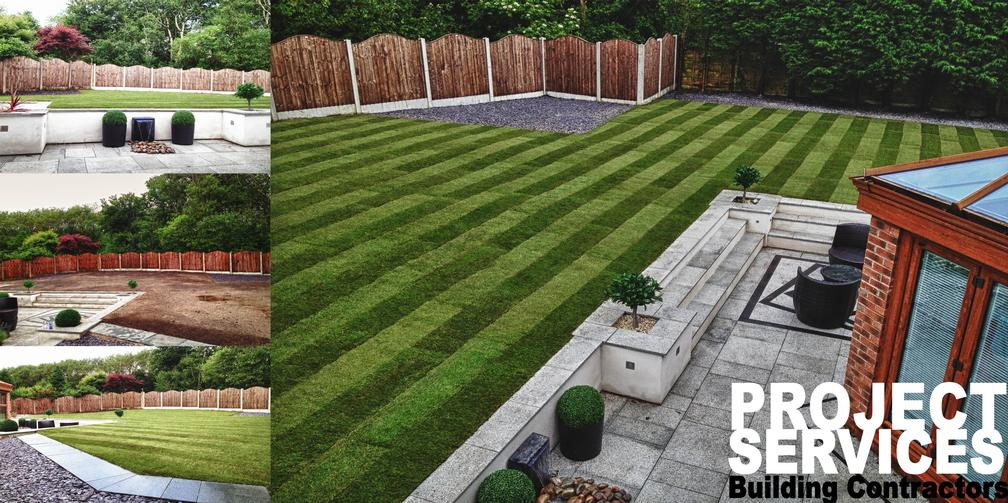 Hard Landscaping  Garden Works in Bury and Lancashire
