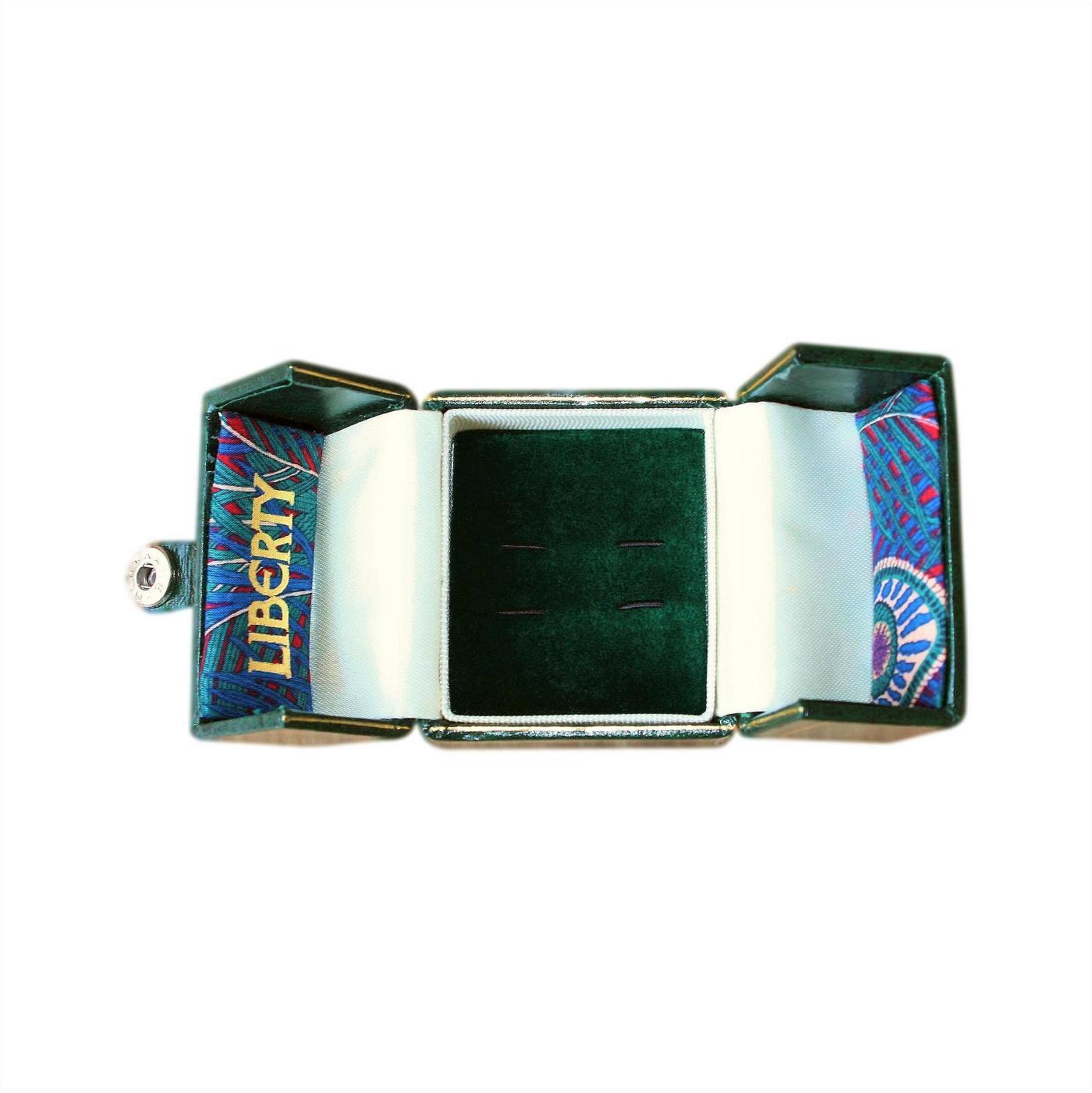 Leather Covered Genuine Liberty Jewellery Presentation Box