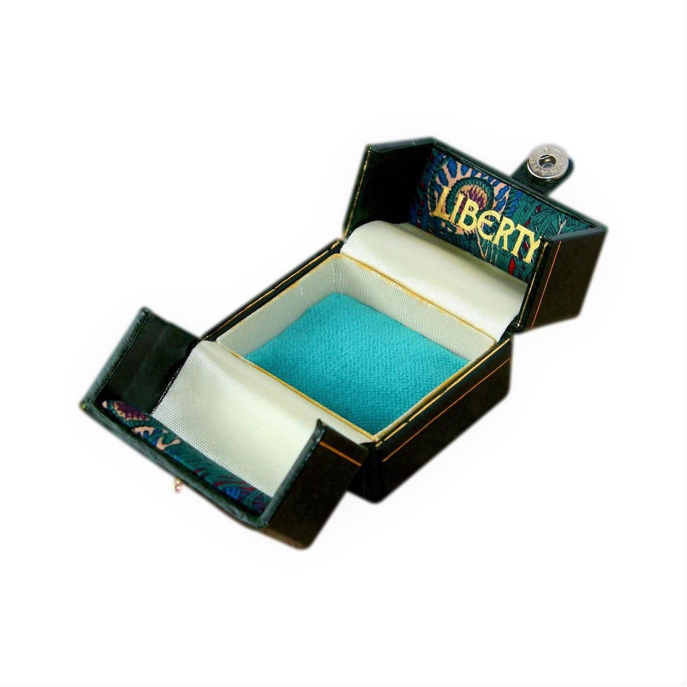 Stylish Leather Covered Liberty Jewellery Presentation Box