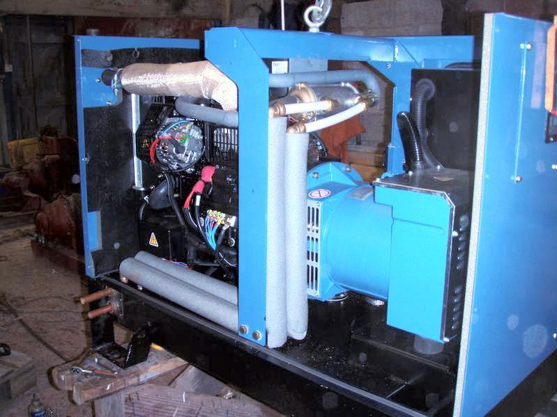 combined heat and power CHP diesel generator