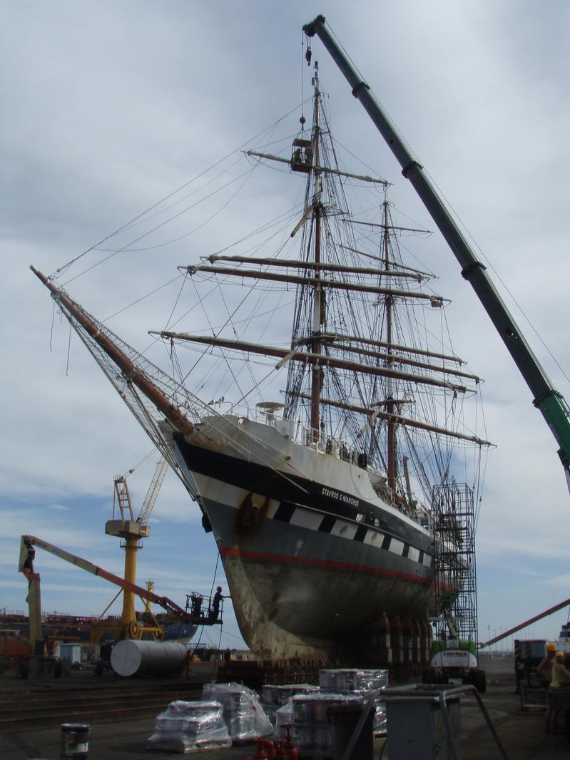 traditional rigging survey and maintenance