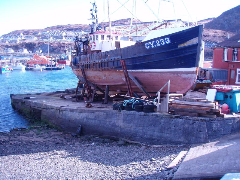 welding fabrication engineering rigging diesel mechanic slipway at Mallaig