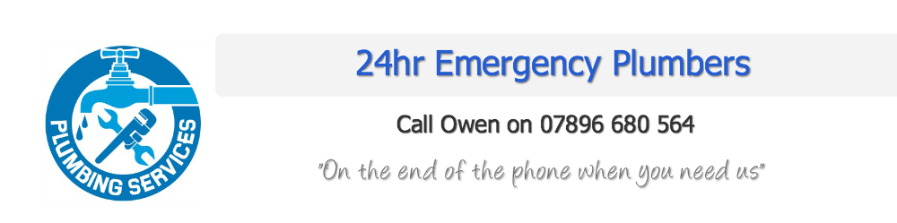 24hr Emergency Plumber Barnet | Call Owen 07896 680 564