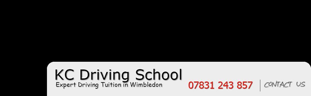 KC Driving School Wimbledon. Expert Driving Lessons in Wimbledon.