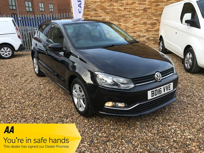 Volkswagen Polo 1.2 TSI BlueMotion Tech Match (s/s) 5dr £8,995</br> 2016   |   32,900 miles   |   Petrol   |   Manual
