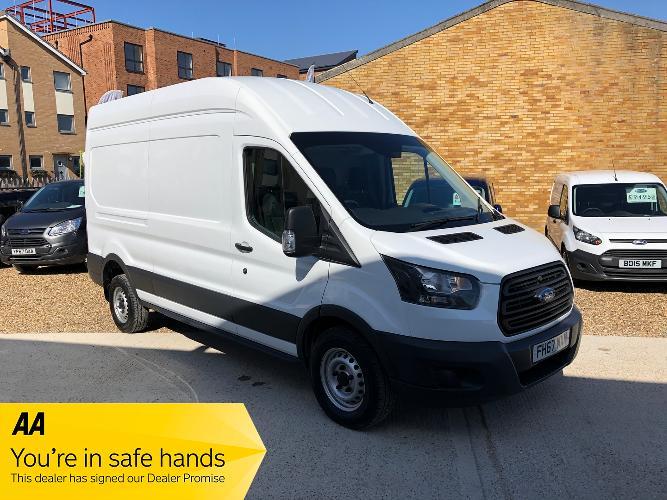 Ford Transit 2.0 350 EcoBlue RWD L3 H3 EU6 5dr £16,495 + VAT</br> 2018   |   47,750 miles   |   Diesel   |   Manual