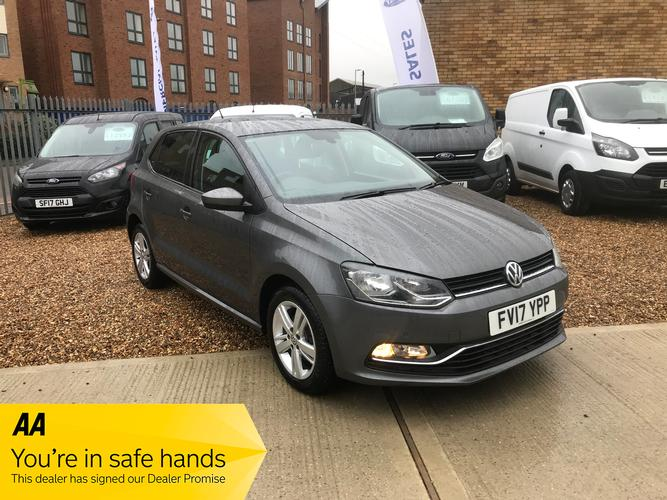 Volkswagen Polo 1.2 TSI Match Edition (s/s) 5dr £9,250</br> 2017   |   36,200 miles   |   Diesel   |  Manual