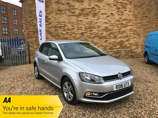 Volkswagen Polo 1.2 TSI BlueMotion Tech Match (s/s) 5dr £8,995</br> 2014   |   38,000 miles   |   Petrol   |   Manual