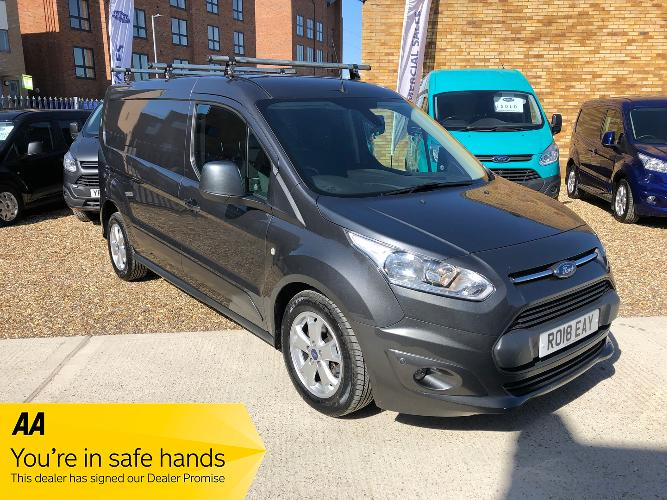 Ford Transit Connect 1.5 TDCi 240 Limited Powershift L2 5dr £17,495 + Vat</br> 2018   |   26,700 miles   |   Diesel   |   Automatic