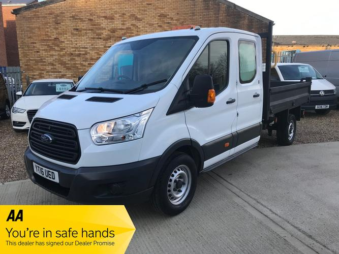 Ford Transit 2.2 TDCi 350 1-Way Double Cab Tipper RWD L3 EU5 4dr 1-Stop £18,995 + Vat </br>