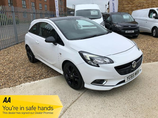 Vauxhall Corsa 1.2i Limited Edition 3dr £6,250</br> 2015  |   41500 miles   |   Petrol   |  Manual