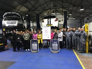 The WI Visit Shaikly Motor Company Colchester WI Girls Visit Shaikly Motor Company And To Get Some General Motoring Advice