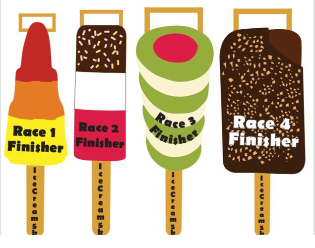 Time 2 Run Events -  Ice Lolly 5k Series - Bolton Every Wednesday in August. A beautiful but challenging trail run in Rivington, suitable for all abilities. Enter all 4 races to collect all 4 ice lolly medals!