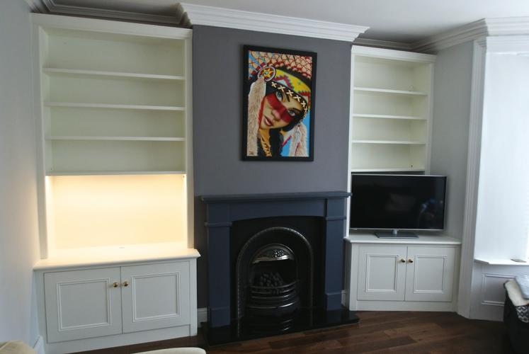 Fitted Alcove Units: Options & Costs in South Yorkshire A comparison of the available options and prices for fitted alcove cupboards and shelves in Sheffield and South Yorkshire