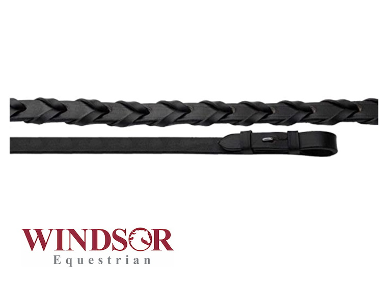 Windor Equestrian Laced Leather Reins