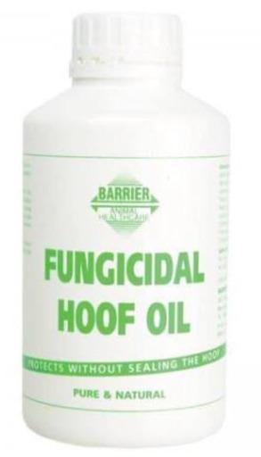 BARRIER ANIMAL HEALTH FUNGICIDAL HOOF OIL 500ML