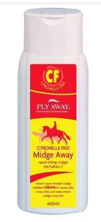 FLY AWAY CITRONELLA FREE MIDGE AWAY CREAM 400ML