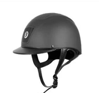 GATEHOUSE CHANTILLY VENTED LOW PROFILE RIDING HAT 59CM BLACK PAS015