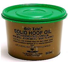 GOLD LABEL NATURAL SOLID HOOF OIL 250ML