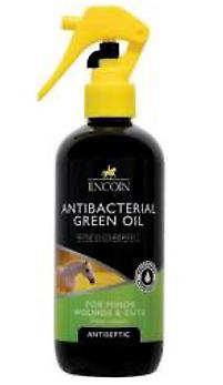 LINCOLN ANTIBACTERIAL GREEN OIL SPRAY 250ML