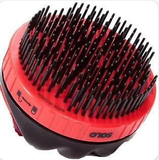 SOLOBRUSH  RETRACTABLE GROOMING BRUSH FOR HORSES AND PETS