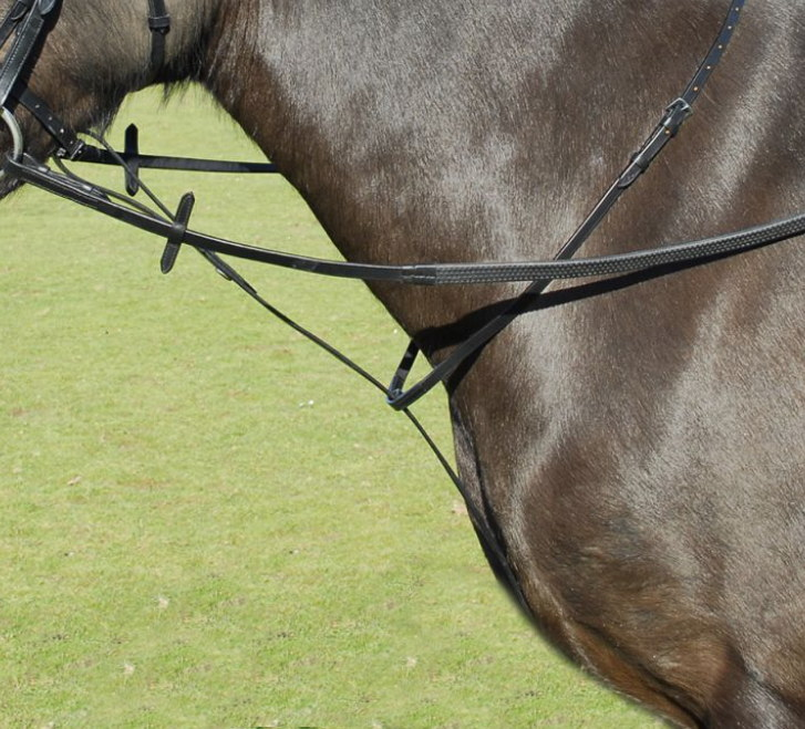 Windsor Leather Standing Martingale