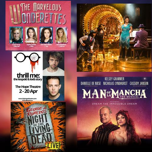 Top 5 openings in April - News Ready for another month of theatre?