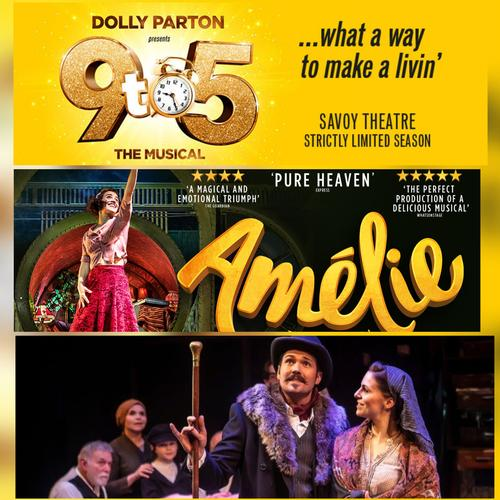 9 to 5, Amelie and Rags Cast recording Announced - News Time to change your playlist