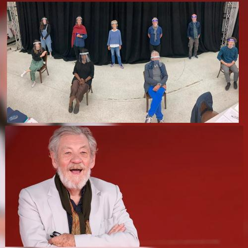 Ian McKellen starts 'Hamlet' social distancing rehearsals – News Ian McKellen plays Hamlet in an age-blind interpretation of the young Prince