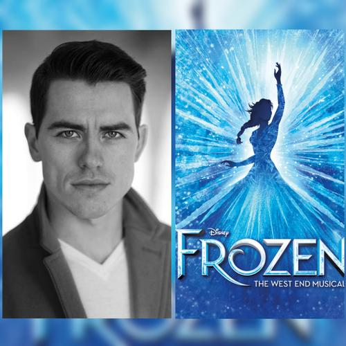 Oliver Ormson and the full cast of Frozen- News He will play the role of Prince Hans