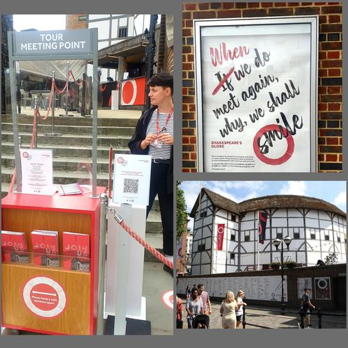 Shakespeare's Globe opens for guided tours - News The venue  has been shut since 20 March
