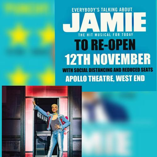 Jamie is back! - News The show will re-open its doors in November