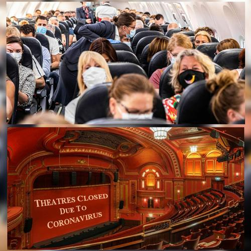Flights safe and theatres unsafe? Not really - News Coronavirus can spread on airline flights, two studies show
