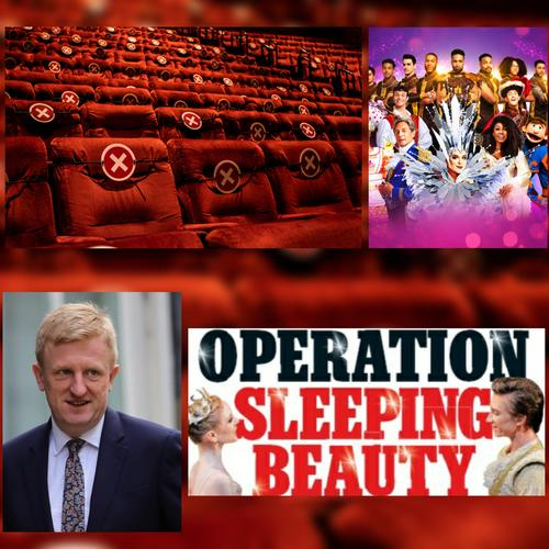Operation Sleeping Beauty starts with Pantoland at the Palladium - News National Lottery will buy seats that need to remain empty to enable social-distancing
